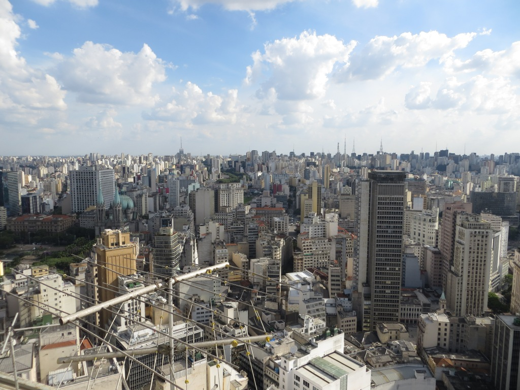 Sao Paulo, buildings as far as the eye can see