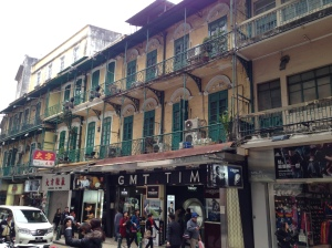 Centre of Macau