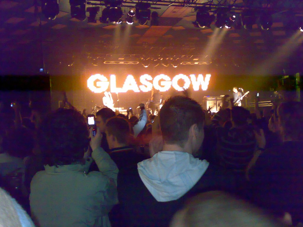 A gig at Barrowlands