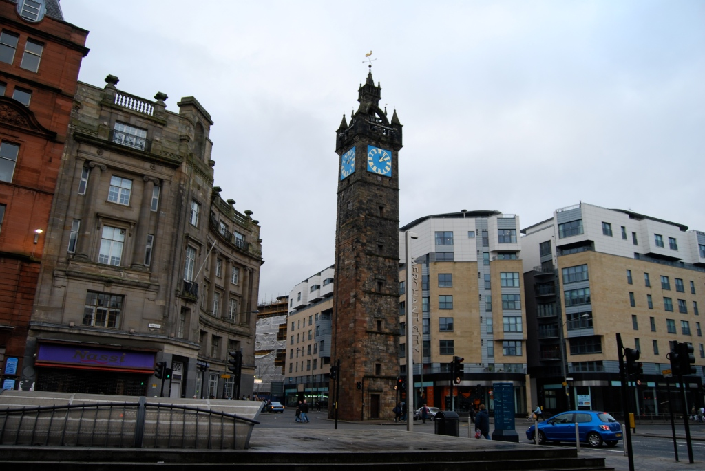 Glasgow Cross - the old heart of the city