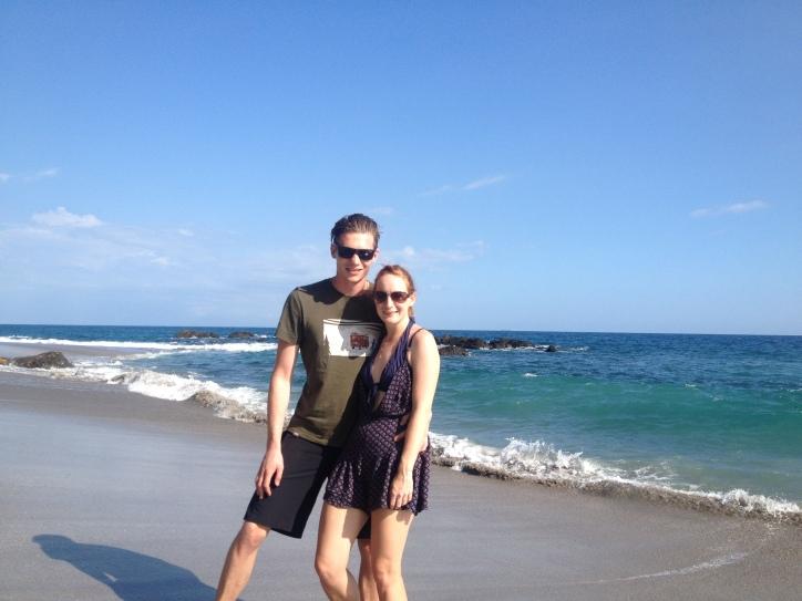 Enjoying Montezuma Beach