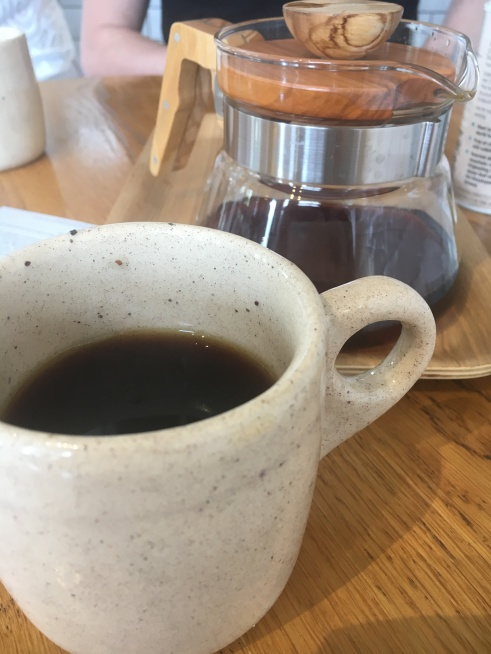 Tasty coffee at Postal Service (AKA Kokako)