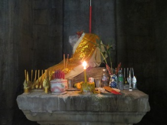 One of the many quite internal temples at Ankor