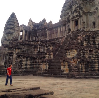 Exploring Ankor Wat before the crowds