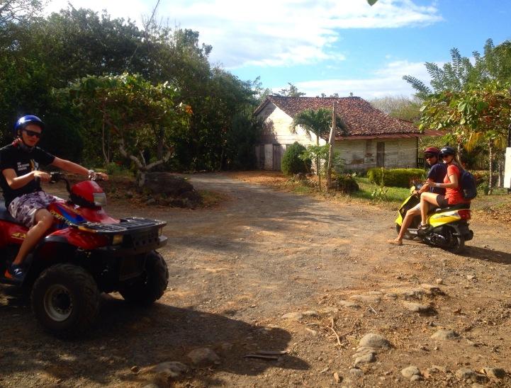 Quad biking Isla Ometepe