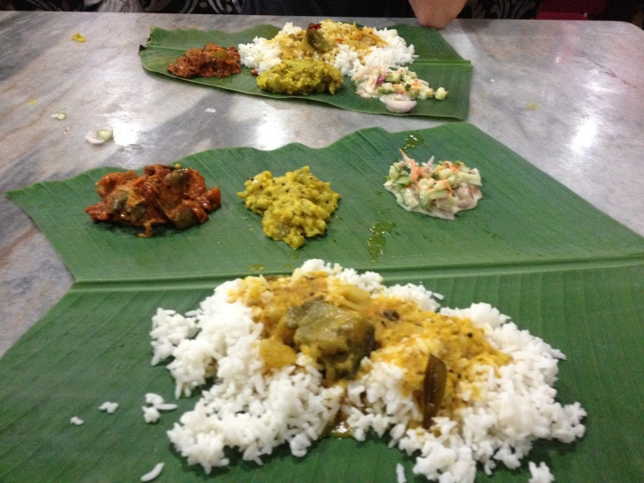 Banana leaf meal, KL