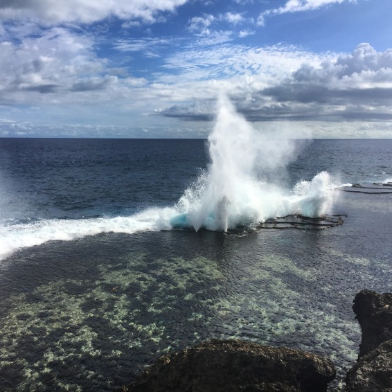 Mapu 'a Vaea - Ocean blow holes