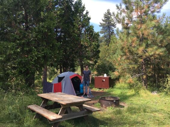 Camping Lake Tahoe