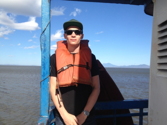 The boat ride on Lake Nicaragua