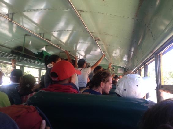 Hot sweaty buses