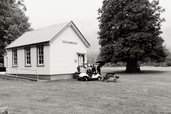 Ceremony location - The old Glenorchy School